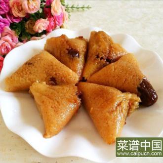 糯米蜜枣粽子