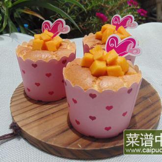 酸奶戚风蛋糕杯