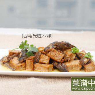 小黄甲鱼焖豆腐