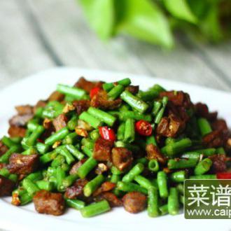 牛肉炒豇豆