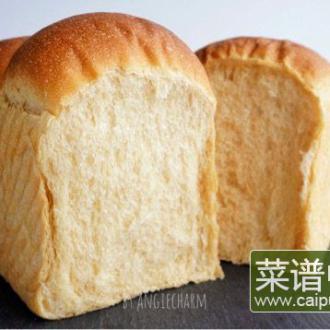 汤种炼乳黄豆粉面包