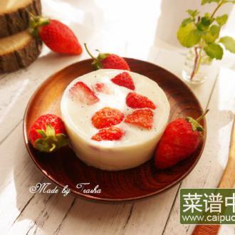 草莓炼乳奶酪