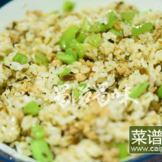 碎米芽菜炒饭