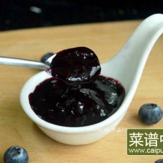 蜂蜜蓝莓果酱