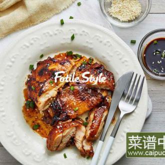 日式照烧鸡肉