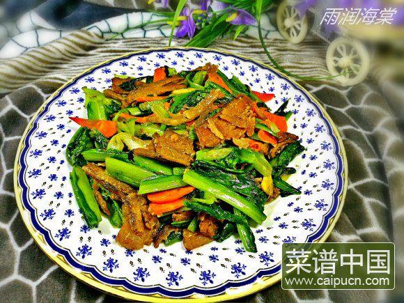 带鱼油麦菜的做法 步骤