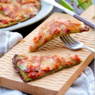 蔬菜底披萨