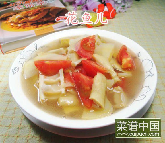 番茄羊尾笋土豆汤的做法 步骤