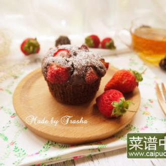草莓巧克力玛芬