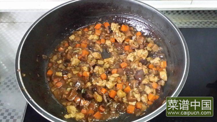 香菇酱肉饭的做法步骤13