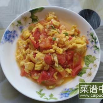 西红柿炒笨鸡蛋