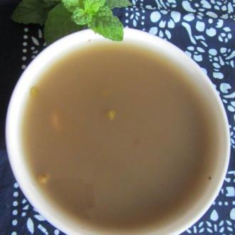薄荷百合绿豆汤