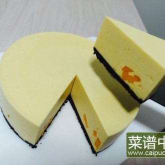 芒果冻芝士蛋糕