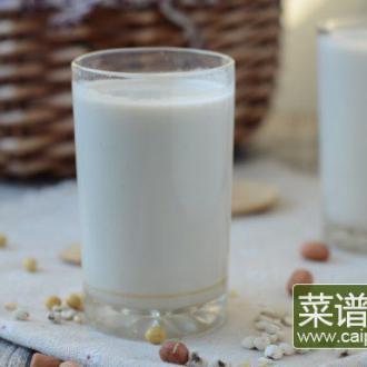 花生薏米豆浆