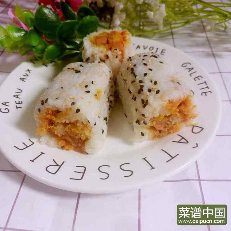 糯米饭团的做法步骤8