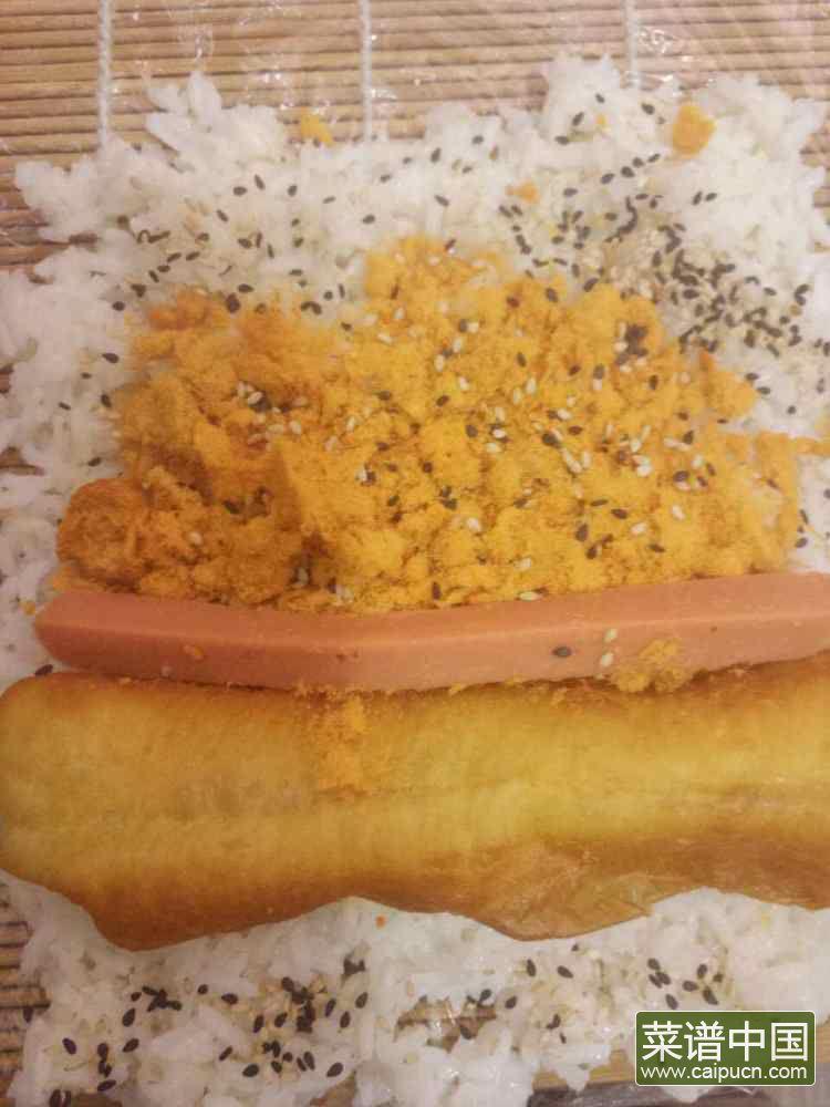 糯米饭团的做法步骤5