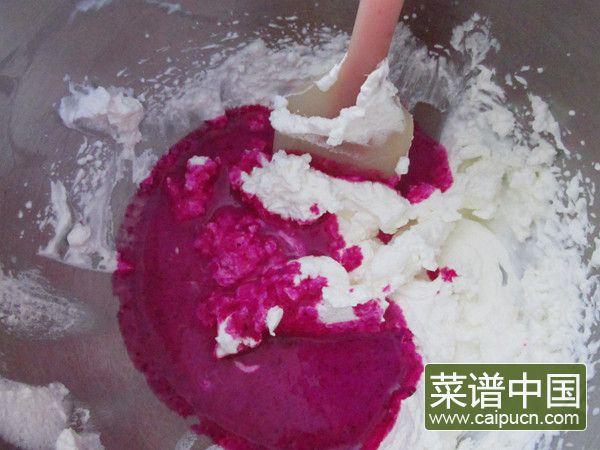 火龙果冰激凌的做法步骤7