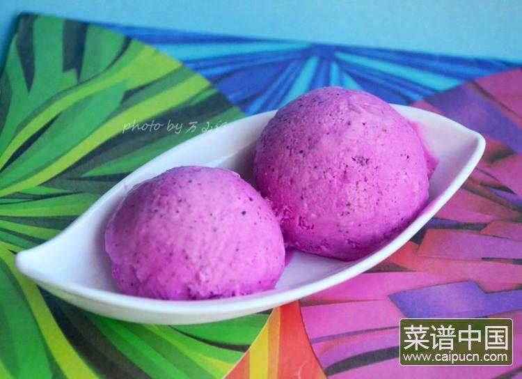 火龙果冰激凌的做法步骤10