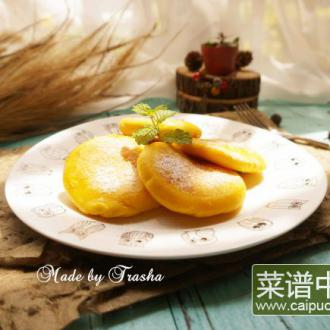 芝士黄金地瓜饼
