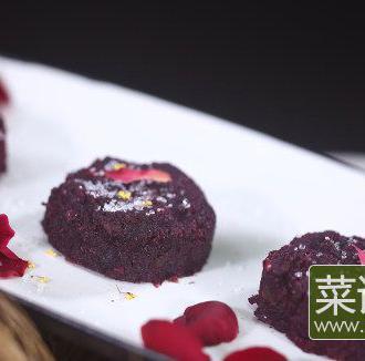 清·玫瑰饼