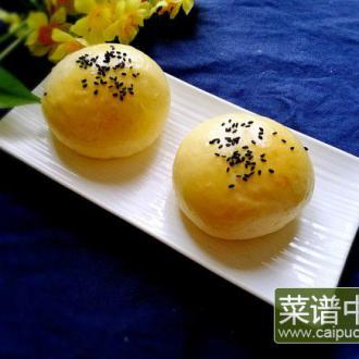 莲蓉馅小面包
