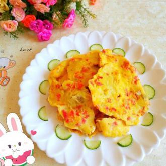西红柿煎蛋饼