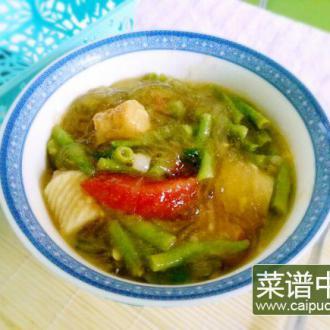 豇豆丸子汤