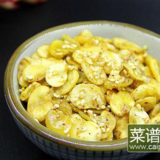 五香酥炸蚕豆