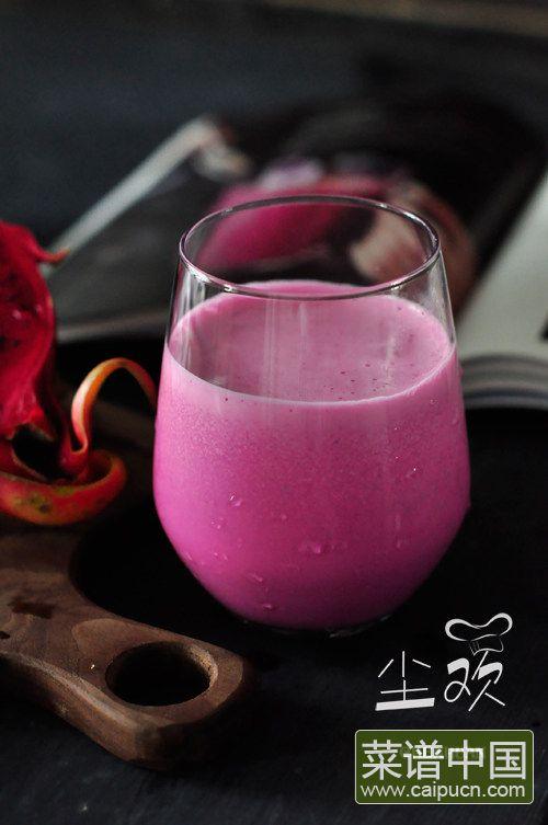火龙果奶昔的做法步骤7