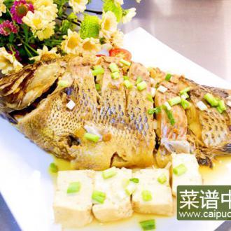 豆腐炖罗非鱼