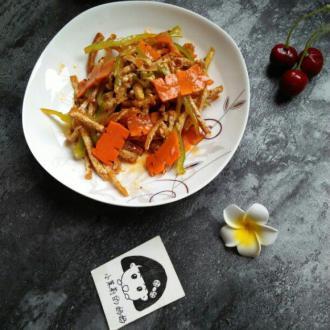 凉菜豆腐丝
