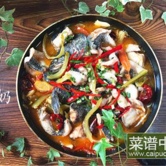 番茄酸菜斑鱼片