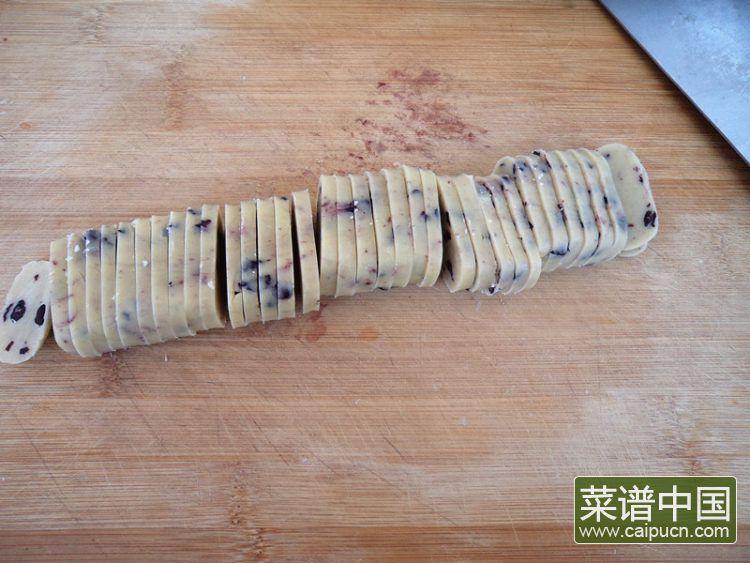 蓝莓饼干的做法步骤8