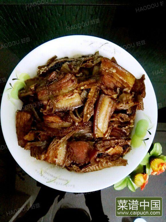 红烧干笋肉片