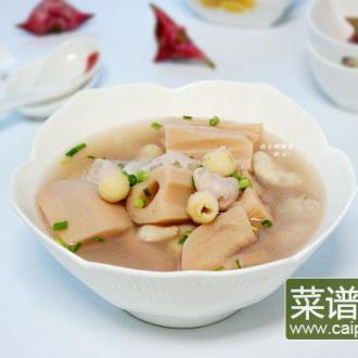 荷塘三宝汤