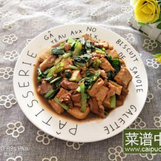 【八月暑味】小白菜炒