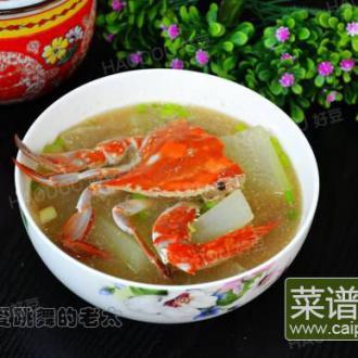梭子蟹冬瓜汤