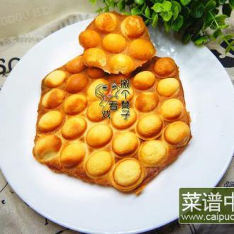 棉花糖华夫饼