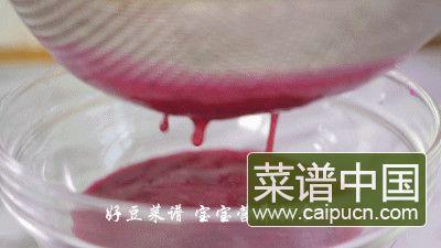 火龙果溶豆的做法步骤4