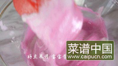 火龙果溶豆的做法步骤12