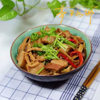咸笋炖五花肉