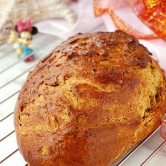 天然酵种瑞德黑麦面包