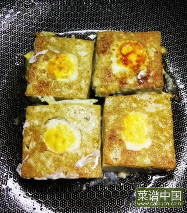 鸡蛋版酿豆腐的做法步骤5