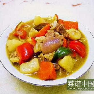 咖喱土豆烧牛肉
