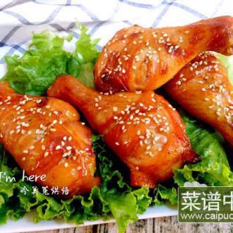 柠香烤鸡腿