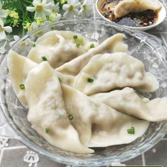莲藕猪肉水饺