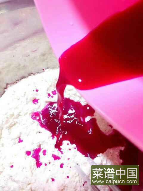 火龙果烧卖的做法步骤2