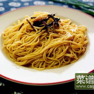老上海葱油拌面