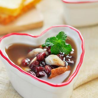 陈皮红豆百合汤