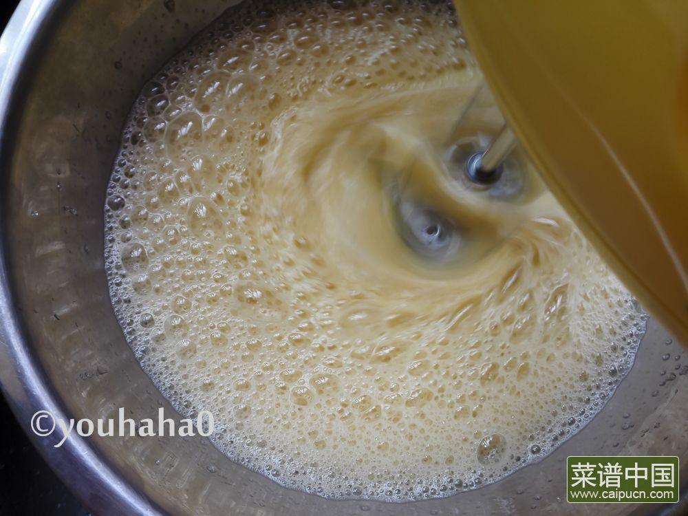 百香果海绵杯子蛋糕的做法步骤4